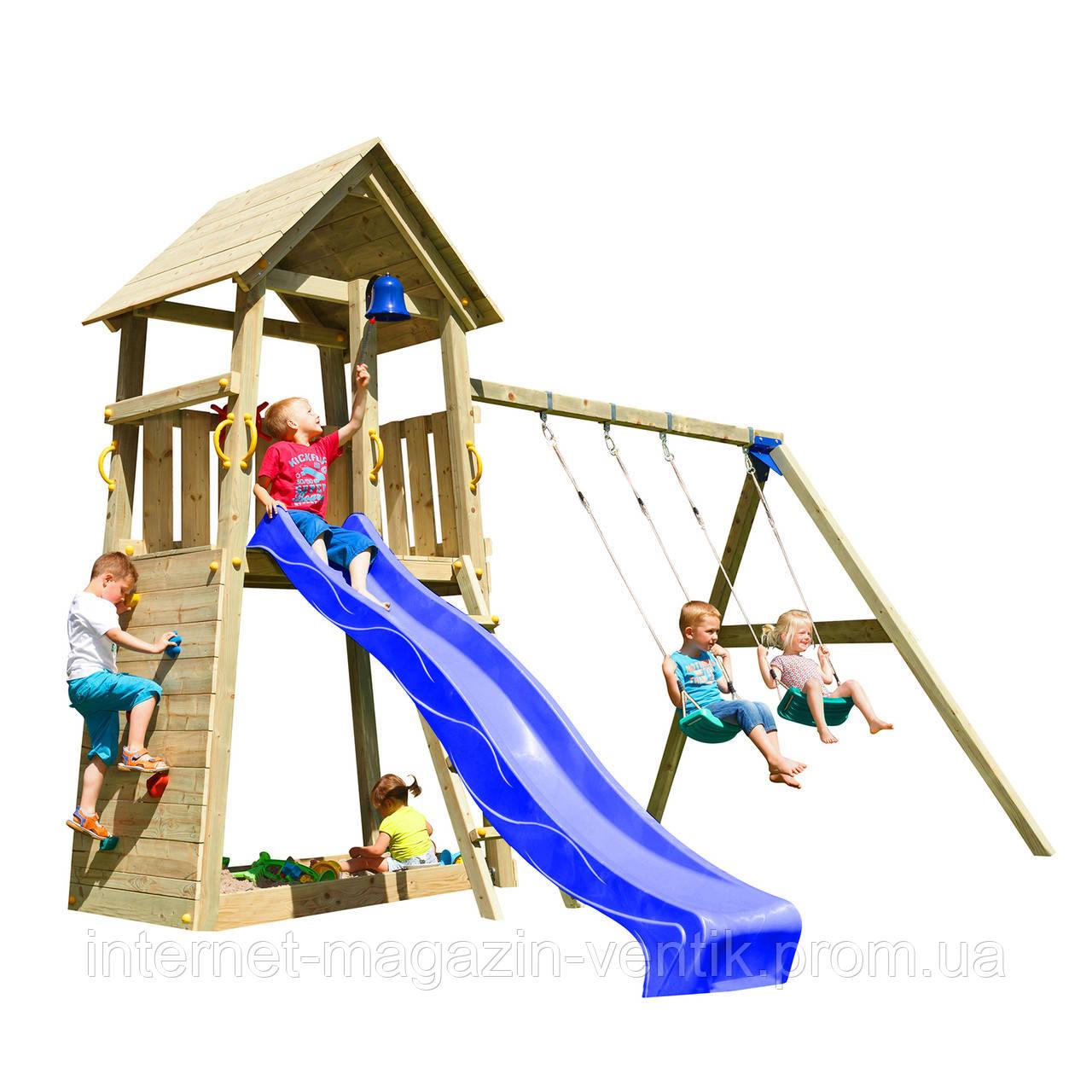 Детская площадка Blue Rabbit BELVEDERE + SWING