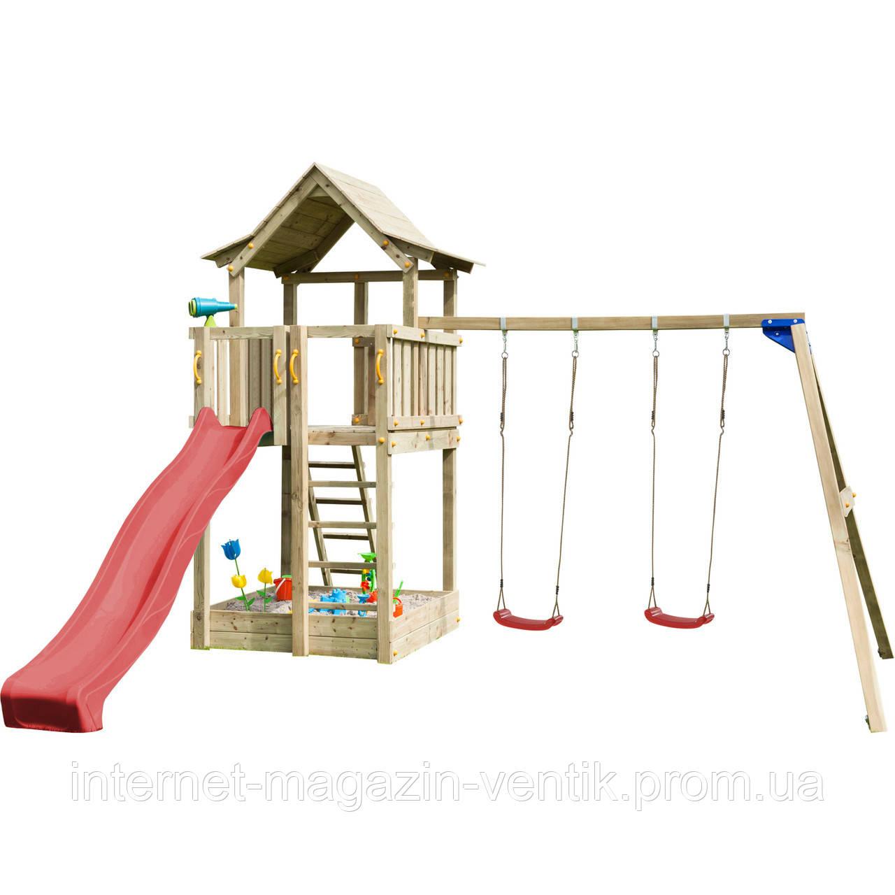 Детская игровая площадка Blue Rabbit PAGODA + SWING
