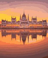 Картина по номерам Венгерский парламент, 40x50 см., Brushme