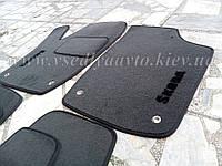 Текстильные коврики передние SKODA Rapid