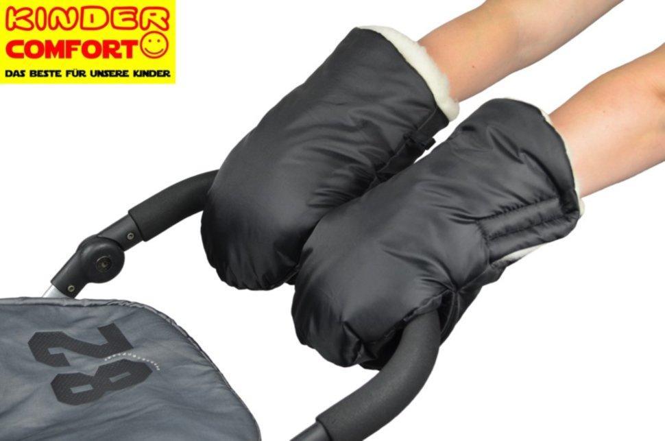 Меховая муфта-рукавички для коляски и санок, Kinder Comfort