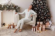 Женская пижама классика Nicoletta 96215