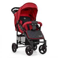 Детская прогулочная коляска El Camino ME 1015L AMULET Deep Red, красная