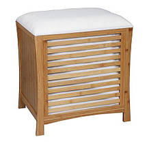 Дерев'яна одномісна тумбочка-сидіння ASPECT OT35 53 x 35 x 58 см для ванної кімнати і вітальні