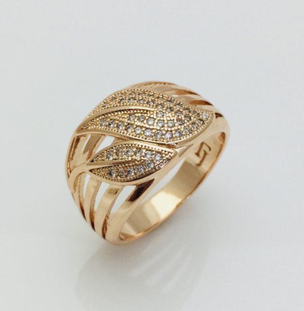 Кольцо Fallon,Листья  размер 17, 18, 20, 21, 22 ювелирная бижутерия