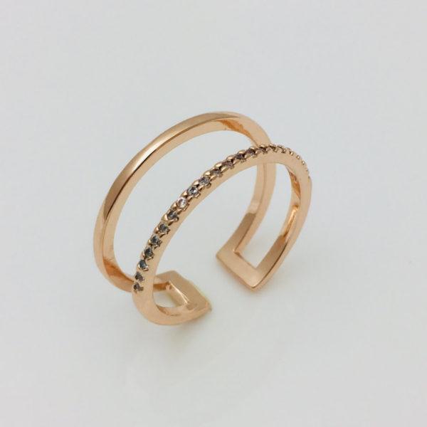 Кольцо женское Айс, размер 15, 16, 17