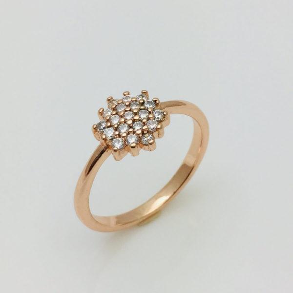 Кольцо женское Флика, размер 15, 16, 17, 18