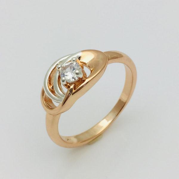 Кольцо женское Лайт , размер  15, 16, 17, 18, 19, 20