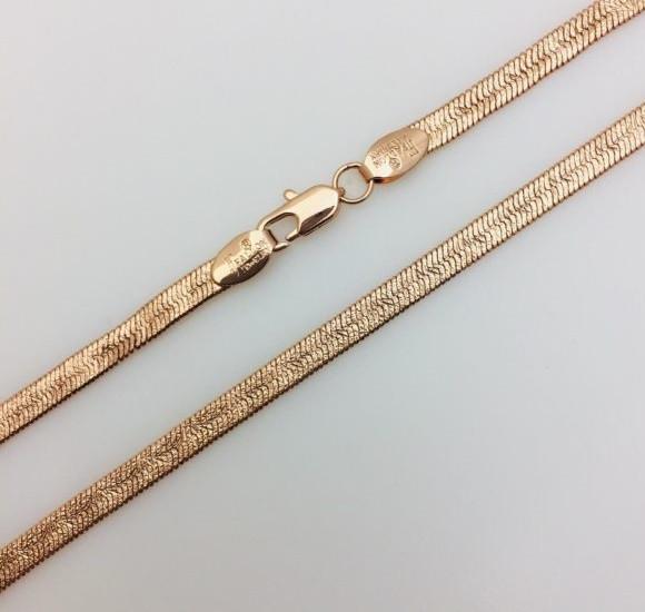 Цепочка Жгут, Н-4 длина 50 см, ювелирная бижутерия