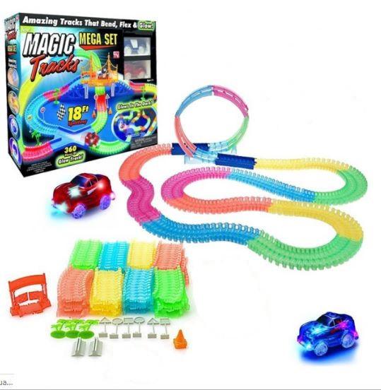 Дитячий конструктор Magic Tracks 360 деталей