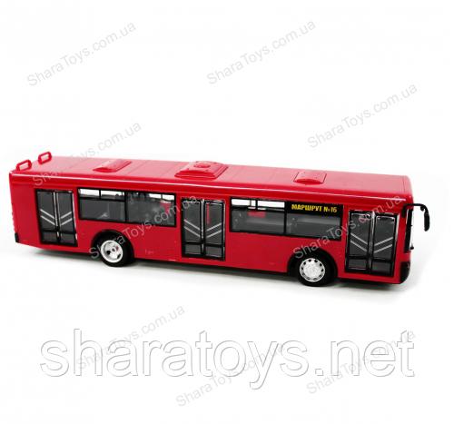 Большая модель автобуса на батарейках