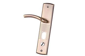 Ручка для металлических дверей FZB - HY-A1809 (1818) АВ (бронза), левая дверь (15-148-03)