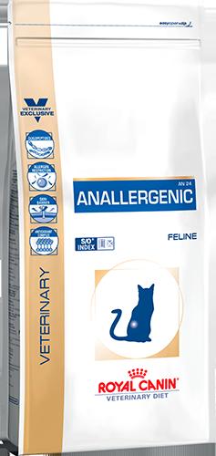 Лечебный сухой корм для котов Royal Canin Anallergenic Feline 2 кг