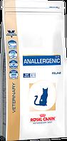 Лечебный сухой корм для котов Royal Canin Anallergenic Feline 4 кг