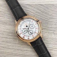 Годинники наручні Patek Philippe Grand Complications 5002 Sky Moon Black-Gold-White New