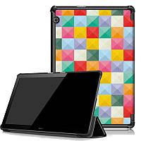 Чехол HUAWEI MediaPad T5 10.1 Print ultraslim square