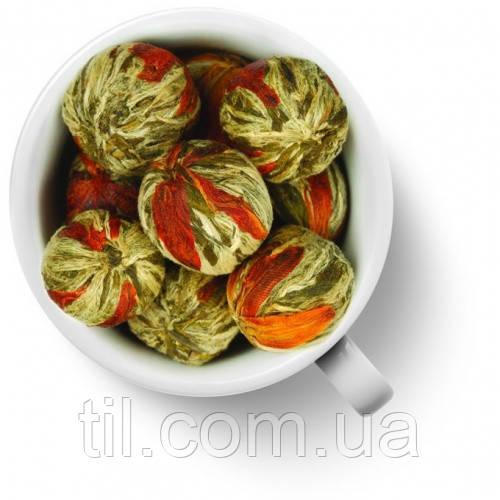 Бай Юй Лянь (Белый лотос благоденствия) шарик с цветком лилии 5 шт.