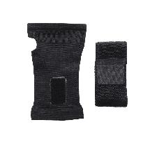 Перчатка эластичный бинт Sibote для защиты запястья при тренировках черный, фото 3