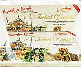 Рахат- лукум  с орехом фисташки и фундука  , 330 гр,TATLAN, турецкие сладости, фото 6