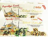 Рахат- лукум  с орехом фисташки и фундука  , 330 гр,TATLAN, турецкие сладости, фото 8