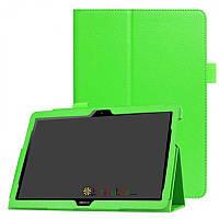 Чехол HUAWEI MediaPad T5 10.1 Classic book cover apple green