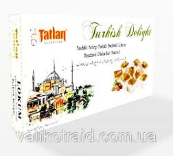Рахат лукум TATLAN с орехом фисташки и фундука  , 330 гр, турецкие сладости