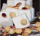 Рахат лукум TATLAN с орехом фисташки и фундука  , 330 гр, турецкие сладости, фото 7