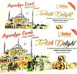 Рахат лукум TATLAN с орехом фисташки и фундука  , 330 гр, турецкие сладости, фото 6