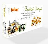 Рахат лукум  с орехом фундука  и фисташки  TATLAN , 330 гр, турецкие сладости, фото 2