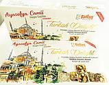 Рахат лукум  с орехом фундука  и фисташки  TATLAN , 330 гр, турецкие сладости, фото 8