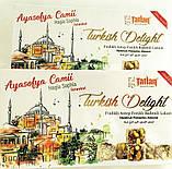 Рахат- лукум TATLAN с фисташкой и фундуком , 330 гр.Турецкие сладости, фото 2