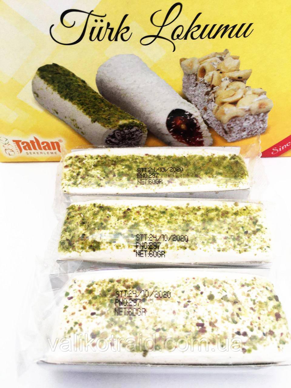 Белый лукум с фруктовым мармеладом 60 гр,TATLAN