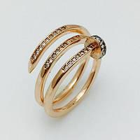 Женское кольцо Малика, размер 17, 18, 19, 20 ювелирная бижутерия