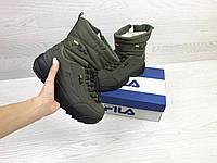 Женские дутики внутри эко мех зимняя женская обувь 15\8727