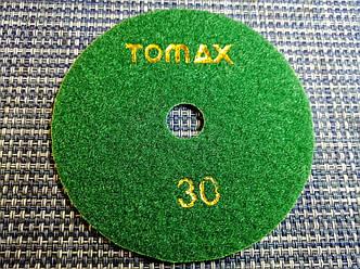 Гибкий алмазный круг (черепашка), TOMAX, Ø100 ММ, зернистость 30