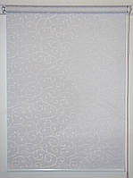Рулонная штора 375*1500 Акант 2018 Белый, фото 1