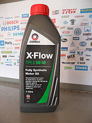 Моторное масло Comma X-flow 5w40 1л.