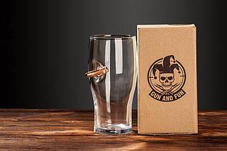 Келих для пива зі справжньою «застряглою» кулею .30-06, фото 2