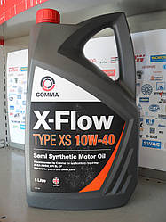 Моторное масло Comma X-flow 10w40 5л.