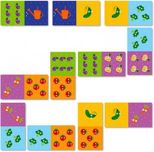Домино DoDo Toys Овощи (300249)