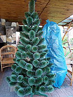 Новогодняя искусственная сосна Белые кончики 2,1 метра, фото 1