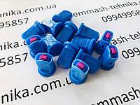 Распылитель инжекторный двухструйный 03 (синий) Agroplast, фото 1