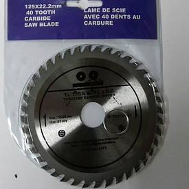 Пильный диск INTERCRAFT 125*22.2*40 зубов