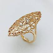 Перстень женский, размер 17, 18, 19, 20, 21, 22