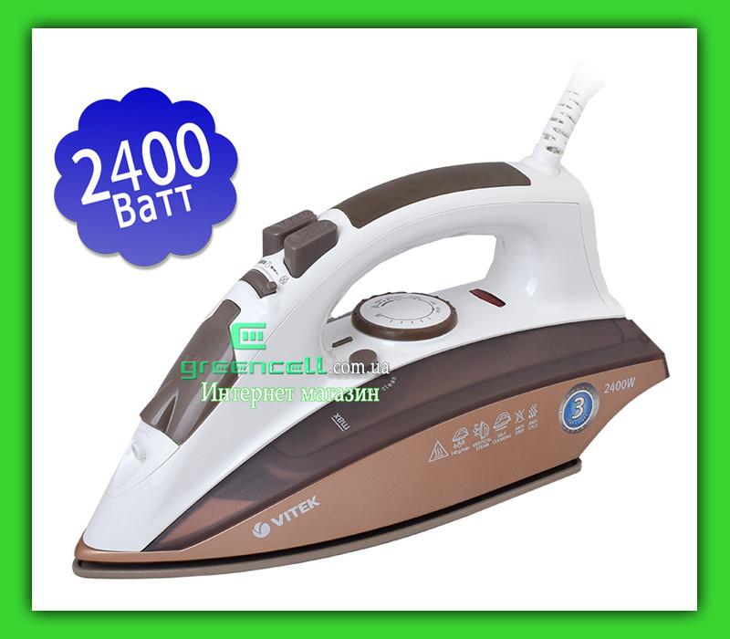 Утюг VITEK VT 1201 BN 2400 Вт