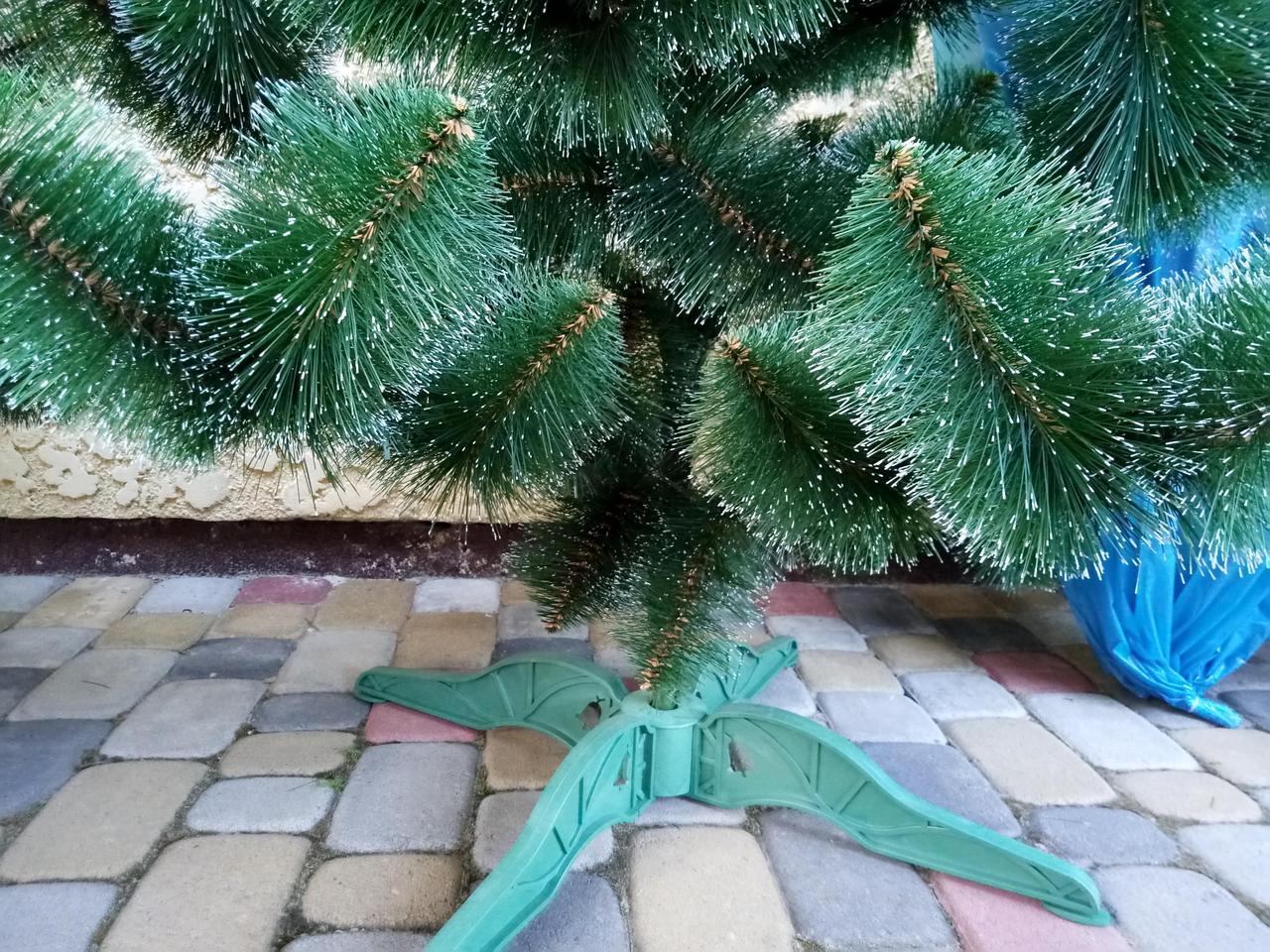 Новогодняя искусственная сосна Белые кончики 2,3 метра