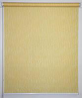 Рулонная штора Лазурь Жёлтый, фото 1