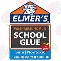 Клей для слаймов Elmer's School Glue Белый, фото 2
