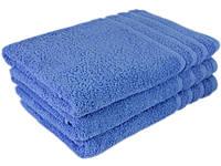 """Полотенце махровое 70х140 """"Terry Lux Plus 420"""" голубой (хлопок 100%), фото 1"""