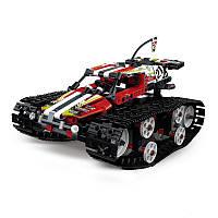 """Конструктор на радиоуправлении Mould King 13024 """"Скоростной вездеход"""" (аналог Lego Technic 42065), 410 деталей"""